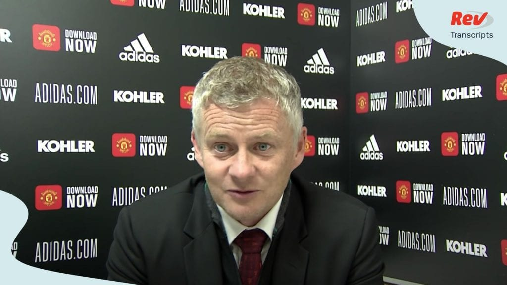 Post Match Press Conference Manchester United Southampton | Ole Gunnar Solskjaer
