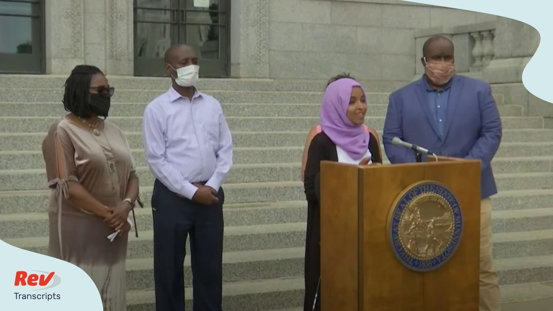Rep Ilhan Omar Press Conference July 7
