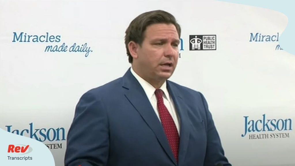 Ron DeSantis Press Conference July 13