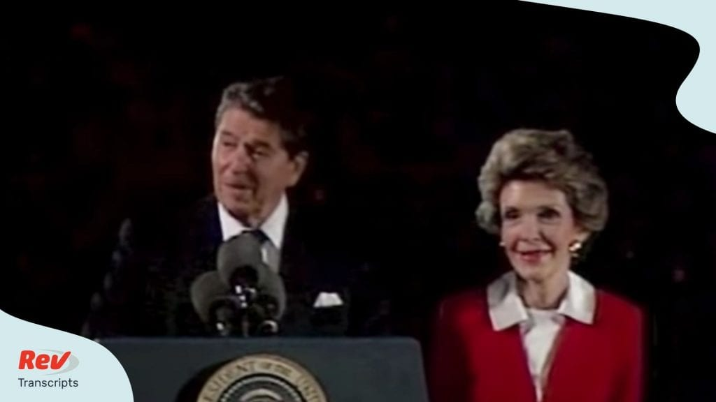 Ronald Reagan 4th of July Speech