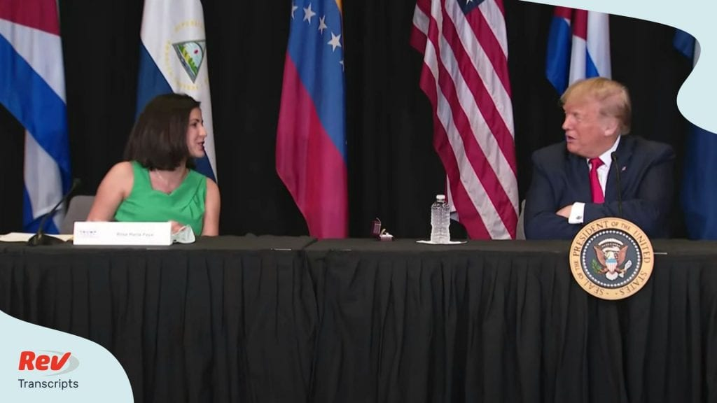 Trump Holds Roundtable On Supporting The People Of Venezuela