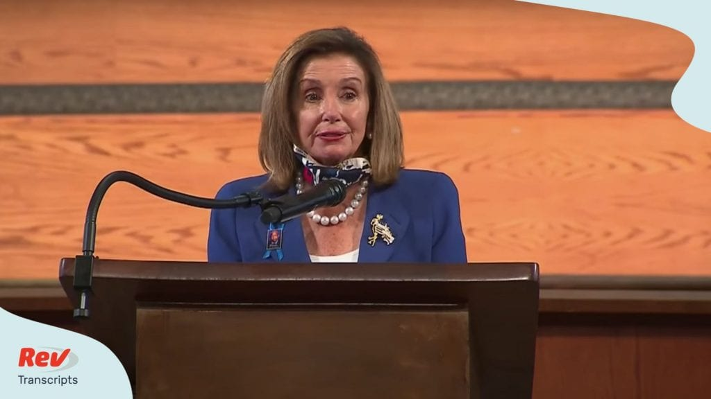 Nancy Pelosi Eulogy Transcript at John Lewis Funeral July 30