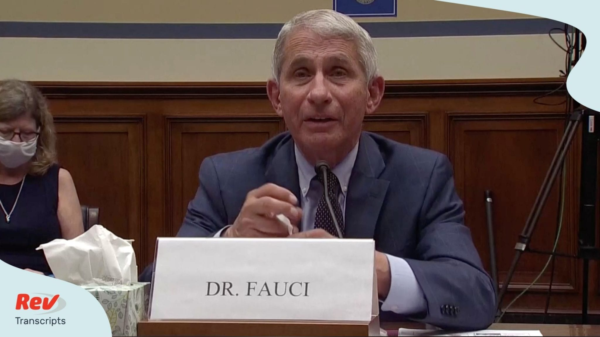 Dr. Fauci Opening Testimony Transcript: Talks Vaccine, National Institute of Health