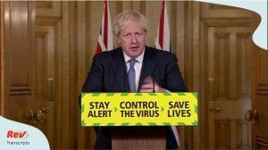 United Kingdom Boris Johnson Coronavirus Briefing Transcript July 31