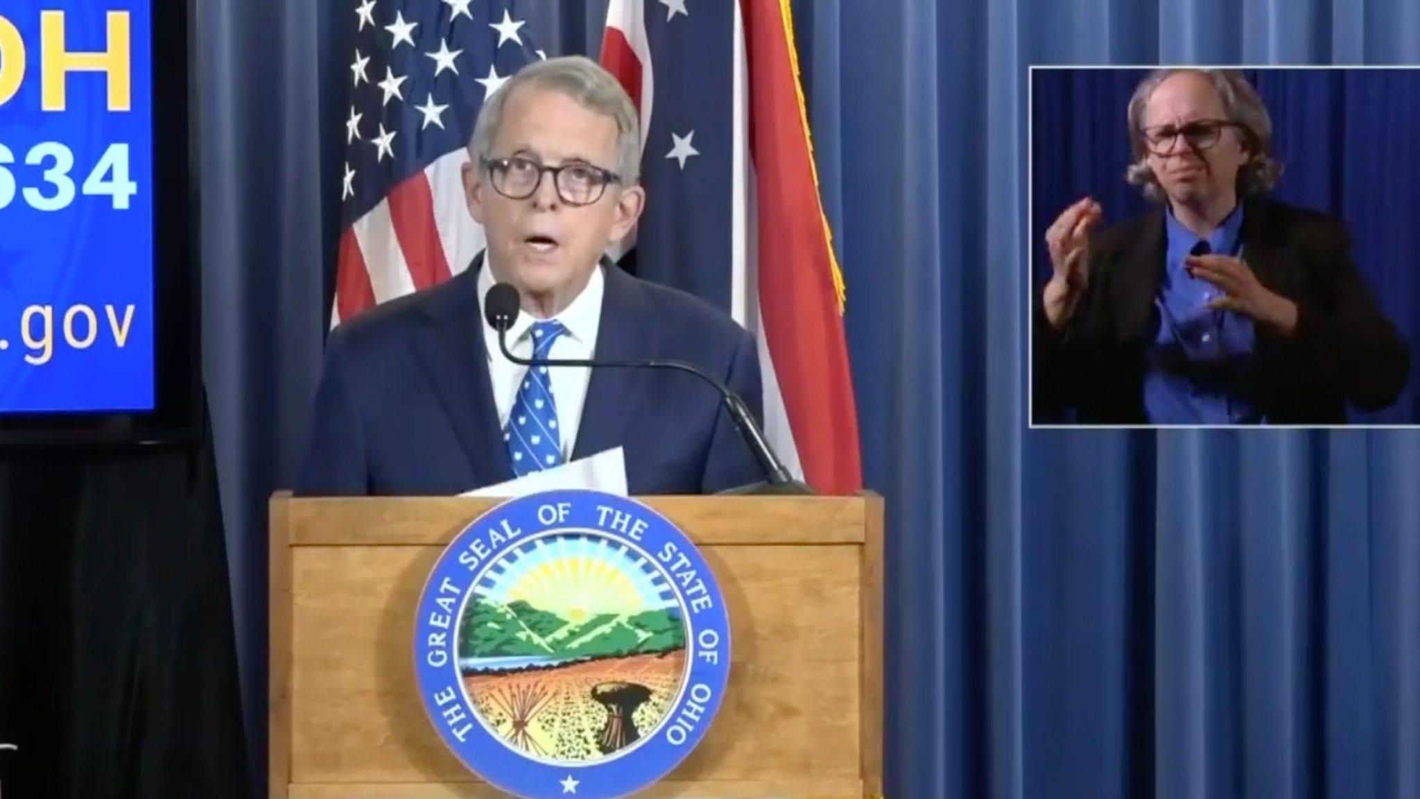 Mike DeWine Ohio Press Conference Transcript July 28