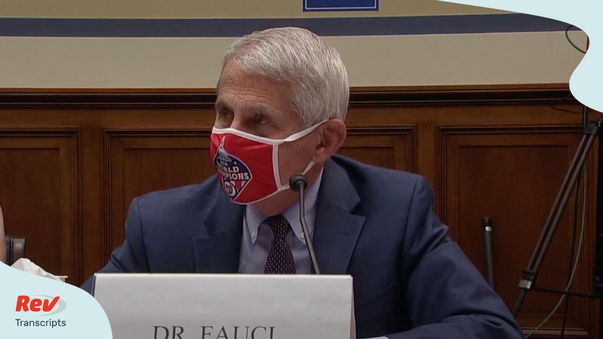 Dr. Fauci Hydroxychloroquine Statement Transcript: House Coronavirus Hearing July 31