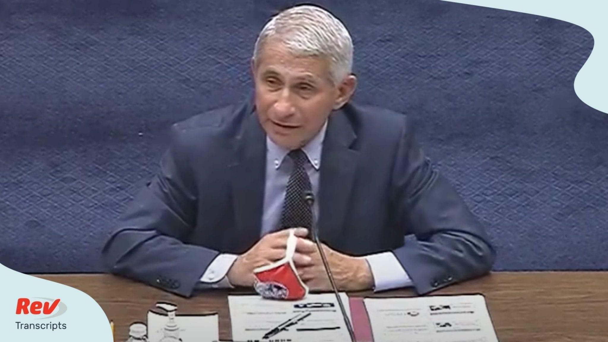 House Coronavirus Response Hearing Full Transcript July 31