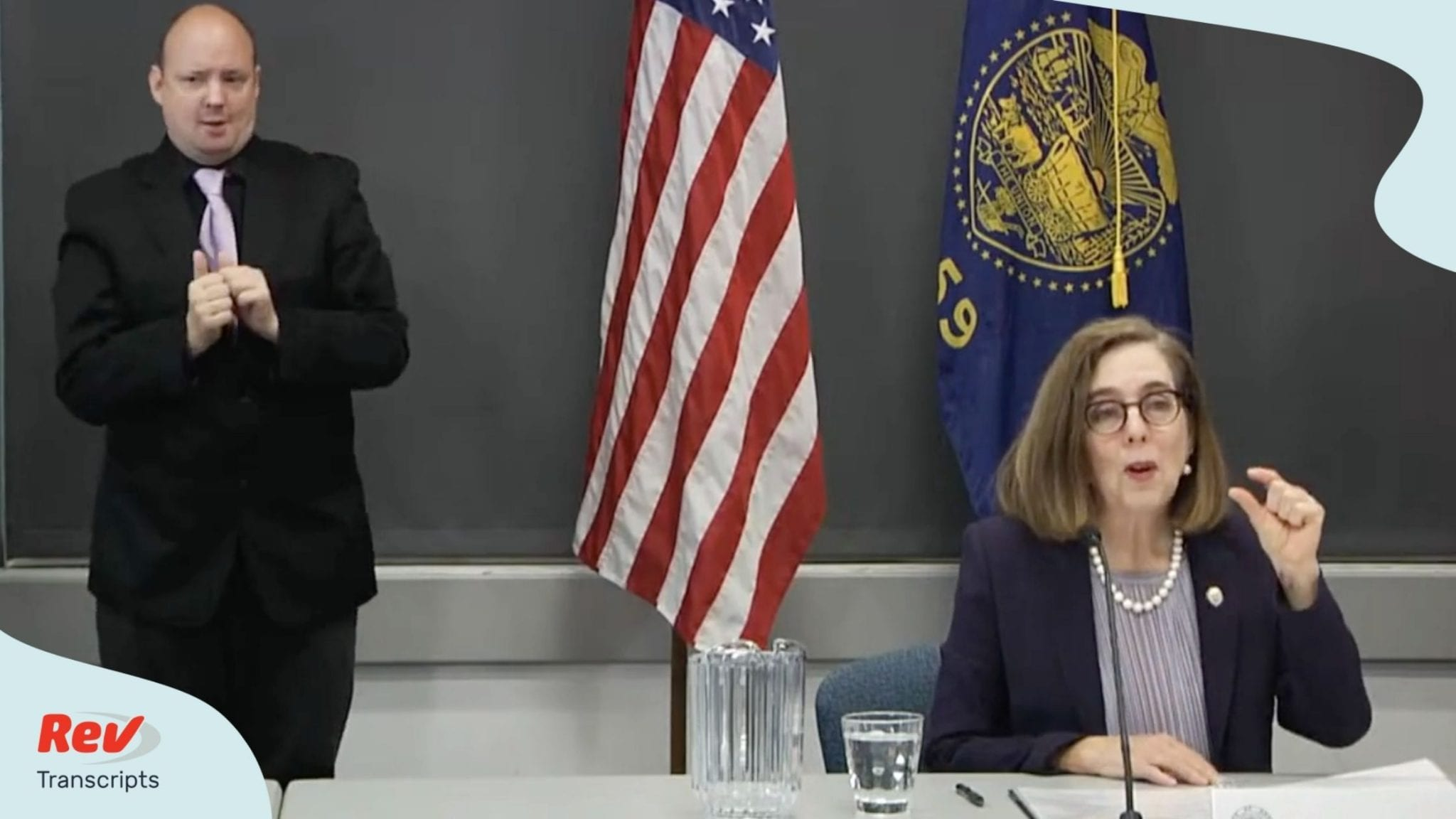 Oregon Governor Kate Brown Press Conference Transcript July 28