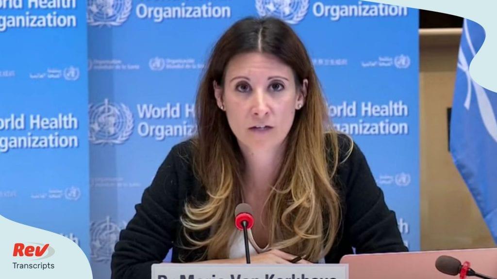 World Health Organization Press Conference July 1