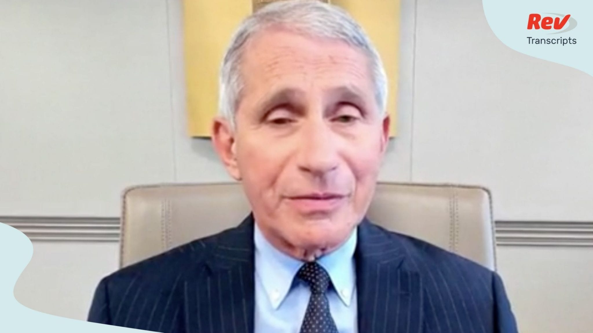 Dr. Fauci speaks about COVID-19 July 17