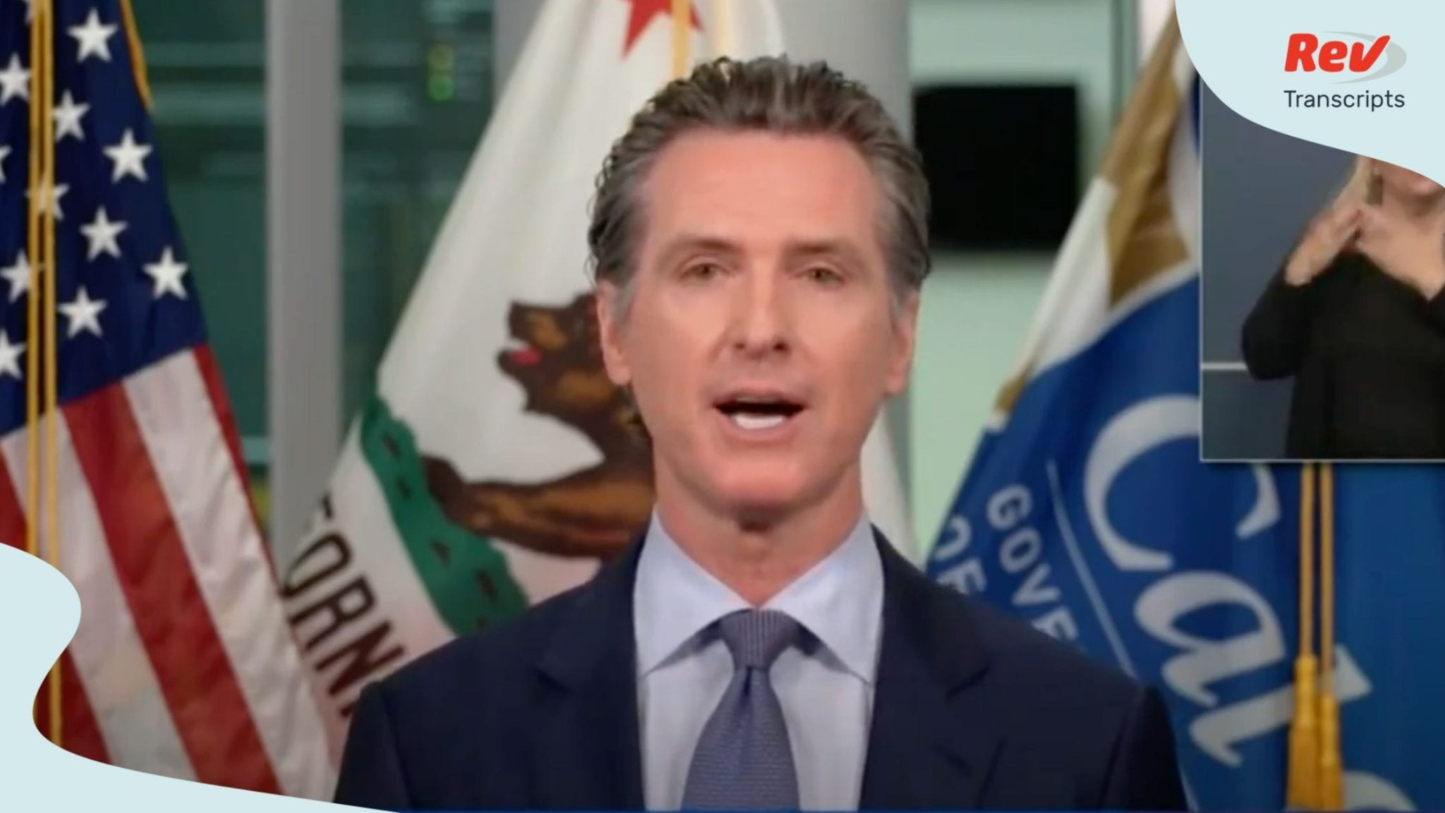 Governor Newsom gave a COVID-19 update on July 20