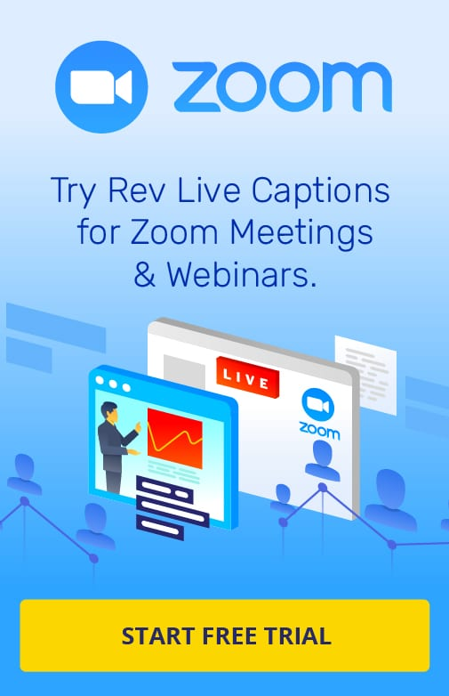 Zoom Captions Free Trial