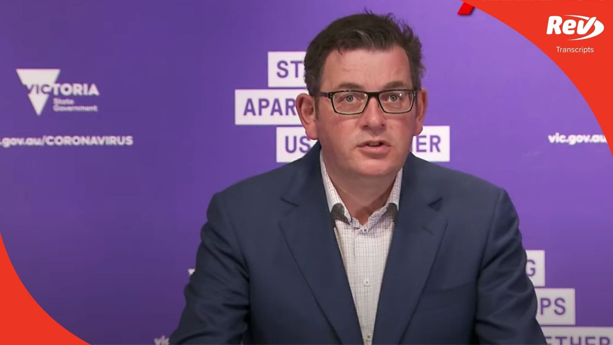 Premier Dan Andrews August 18 Press Conference