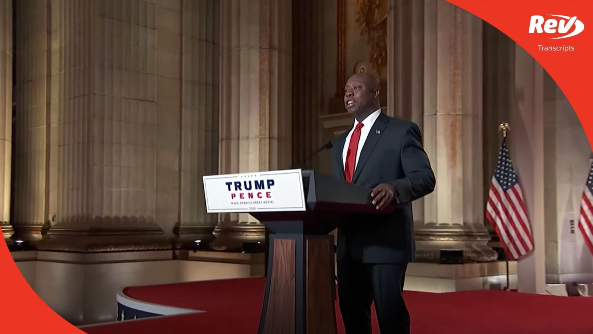 Senator Tim Scott 2020 RNC Speech Transcript