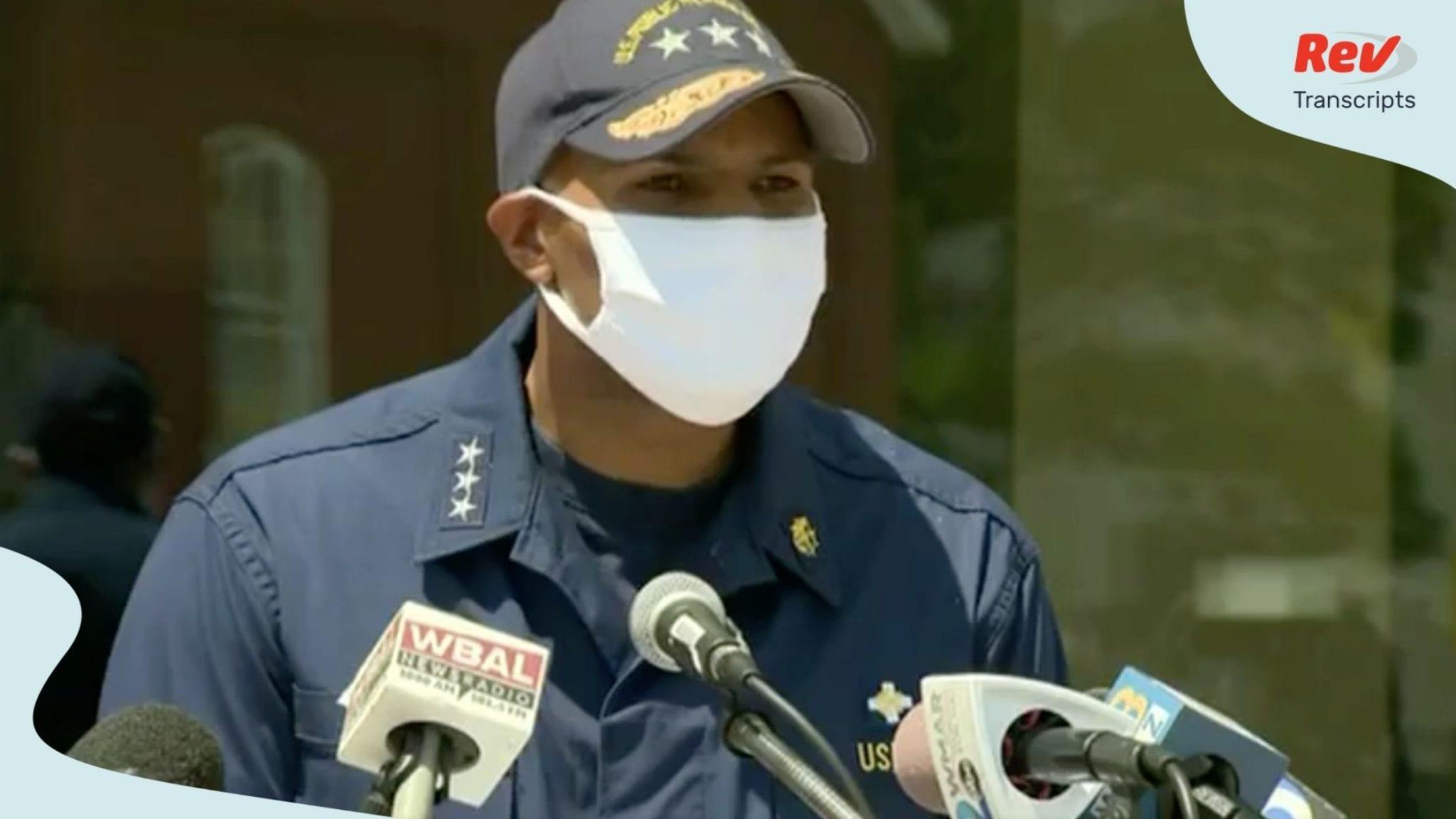 US Surgeon General Jerome Adams Press Briefing Transcript August 7