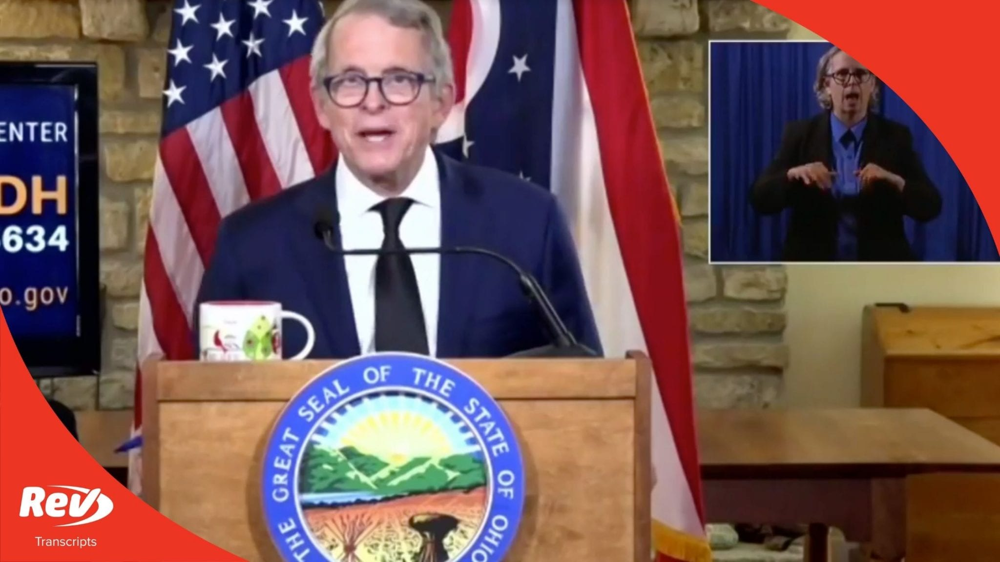 Ohio Governor Mike DeWine Press Conference Transcript August 20