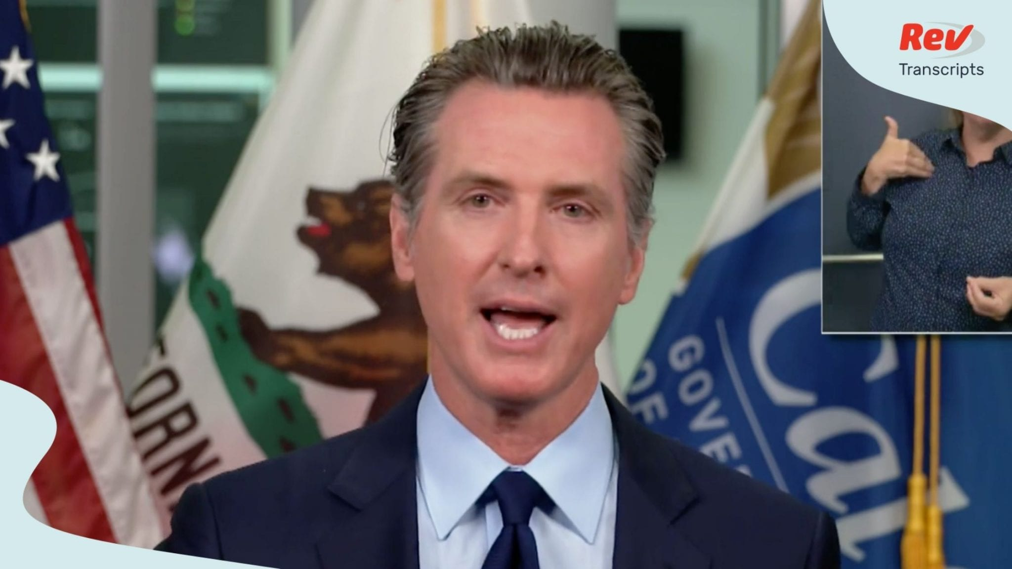 California Governor Gavin Newsom August 12 Press Conference Transcript