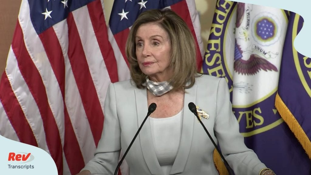 Speaker Nancy Pelosi Press Conference Transcript August 13