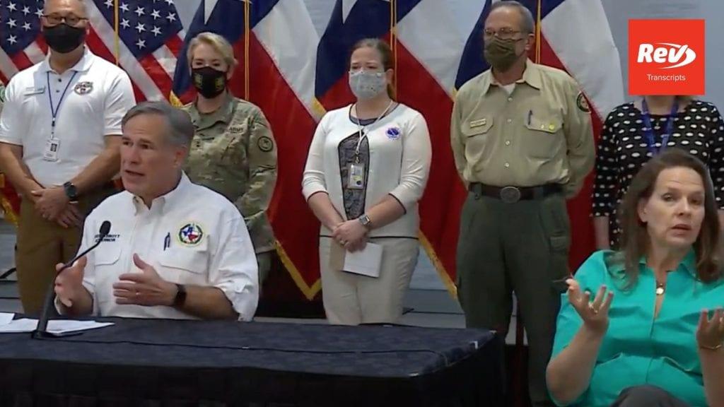 Greg Abbott Press Conference Transcript August 25: Texas Hurricane Update