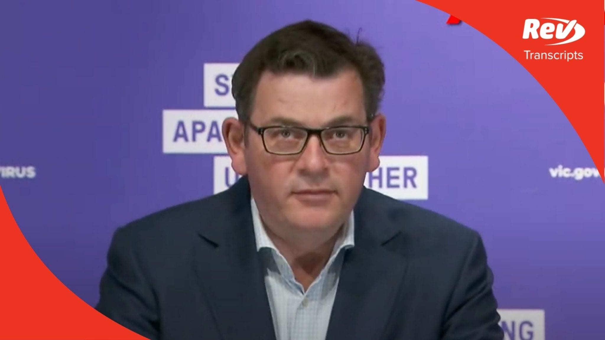 Victoria Premier Dan Andrews Press Conference Transcript August 25