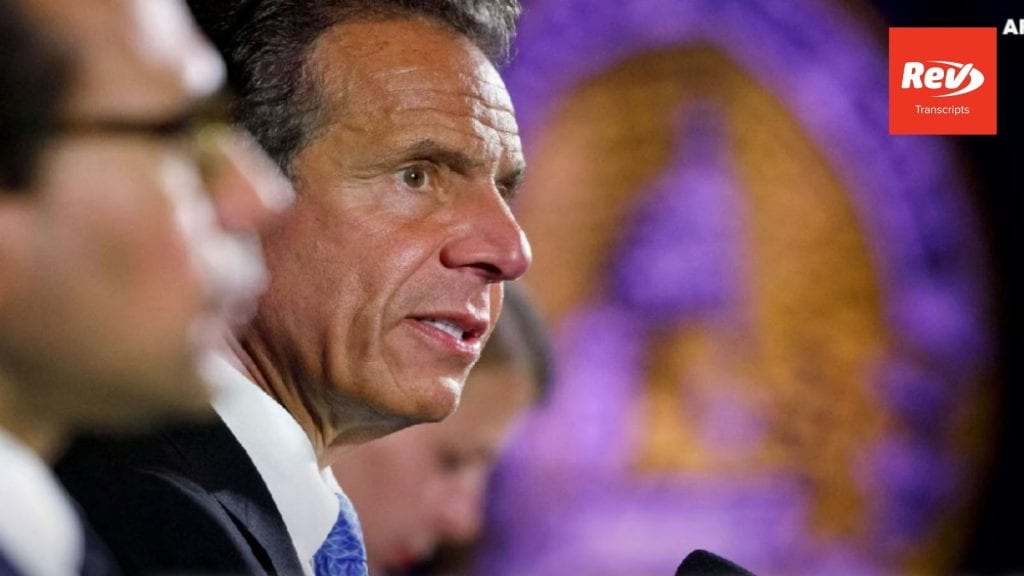 NY Gov. Andrew Cuomo Conference Call Transcript August 14