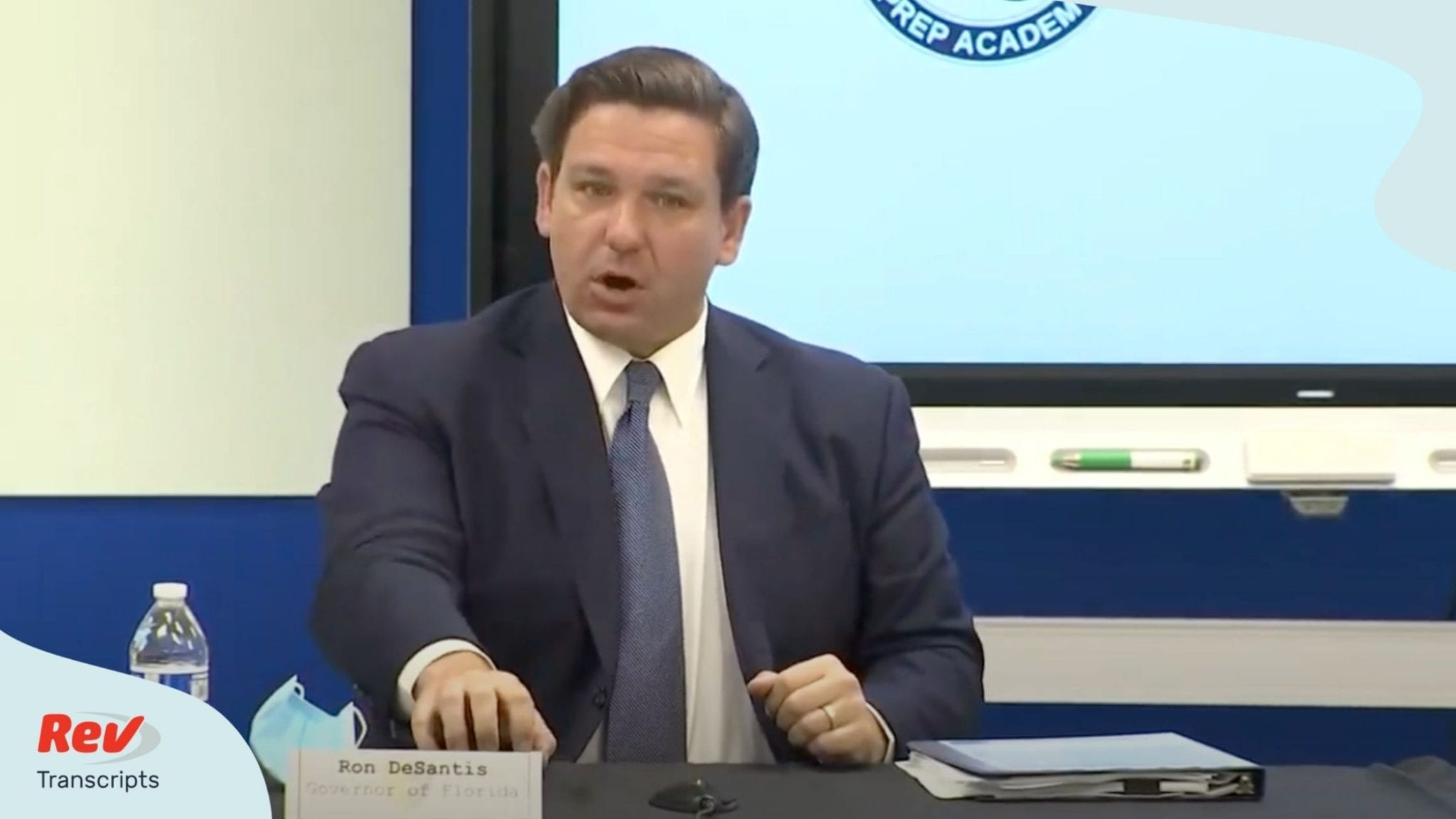 Florida Governor Ron DeSantis Press Conference Transcript August 10