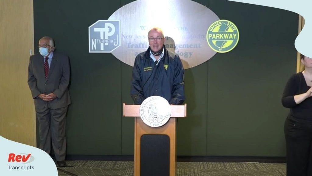 Hurricane Isaias Update Transcript With NJ Gov. Phil Murphy August 4