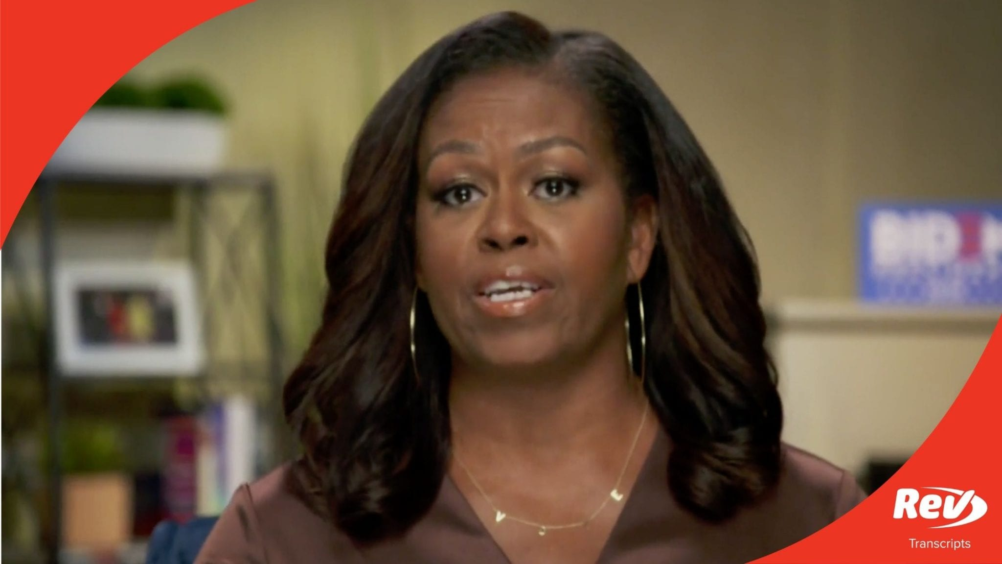 Michelle Obama DNC Speech Transcript