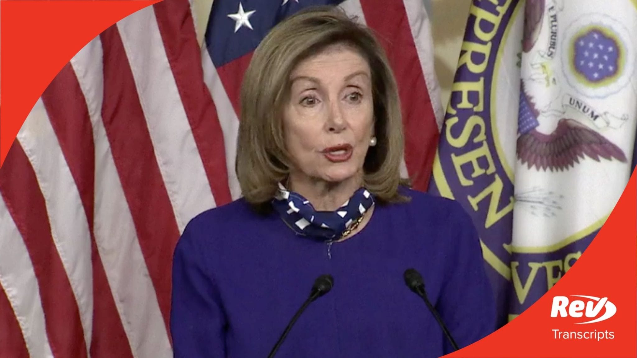 Speaker Nancy Pelosi Press Conference Transcript August 27