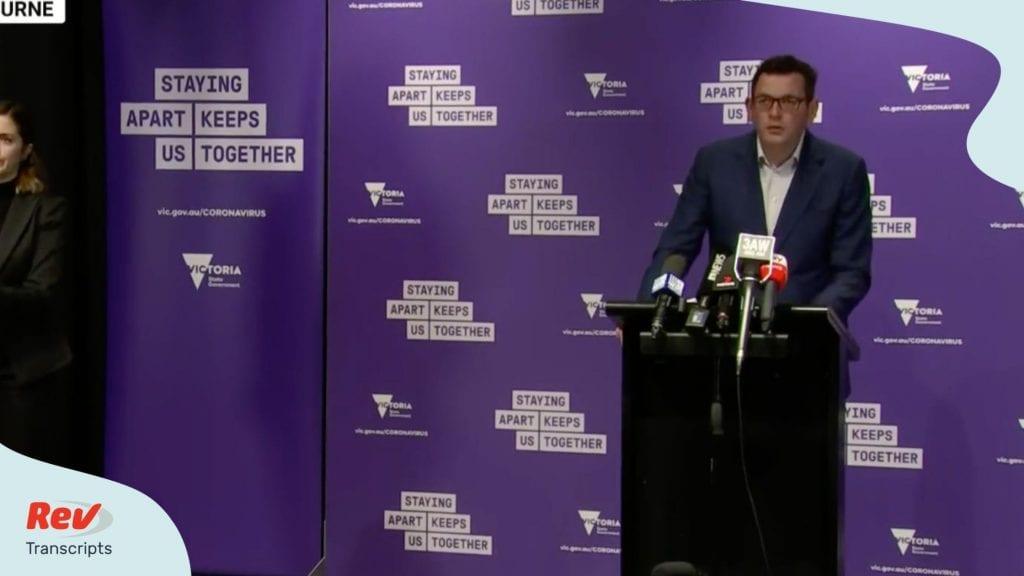 Premier Dan Andrews Press Conference Transcript as Victoria Returns to Lockdown August 4