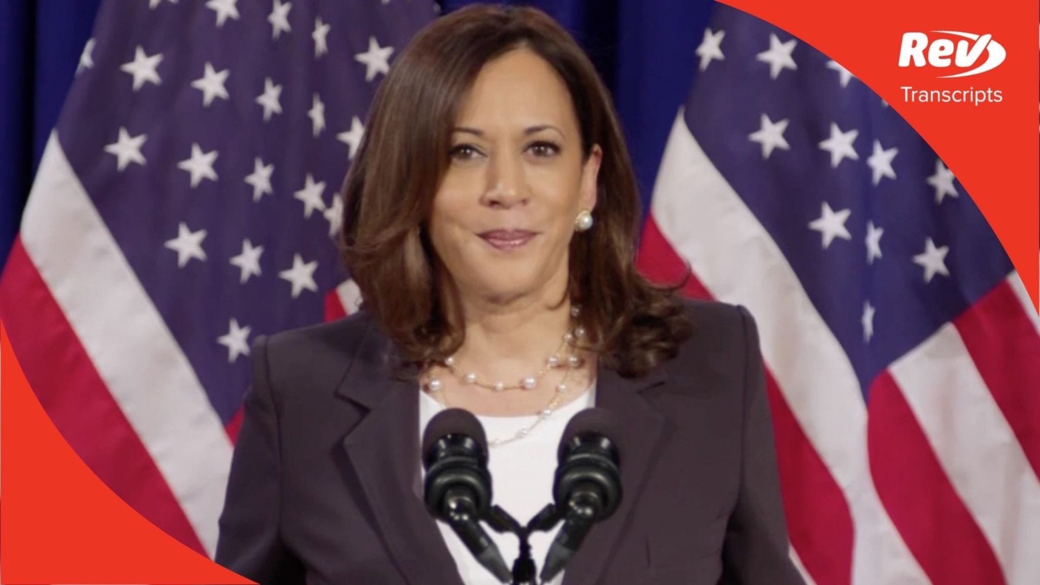 Kamala Harris Speech Transcript August 27: COVID-19 & Economy