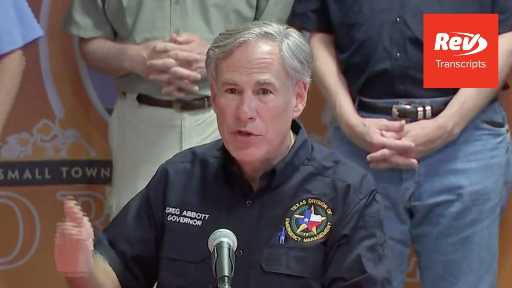 Greg Abbott Press Conference Transcript August 27: Hurricane Update