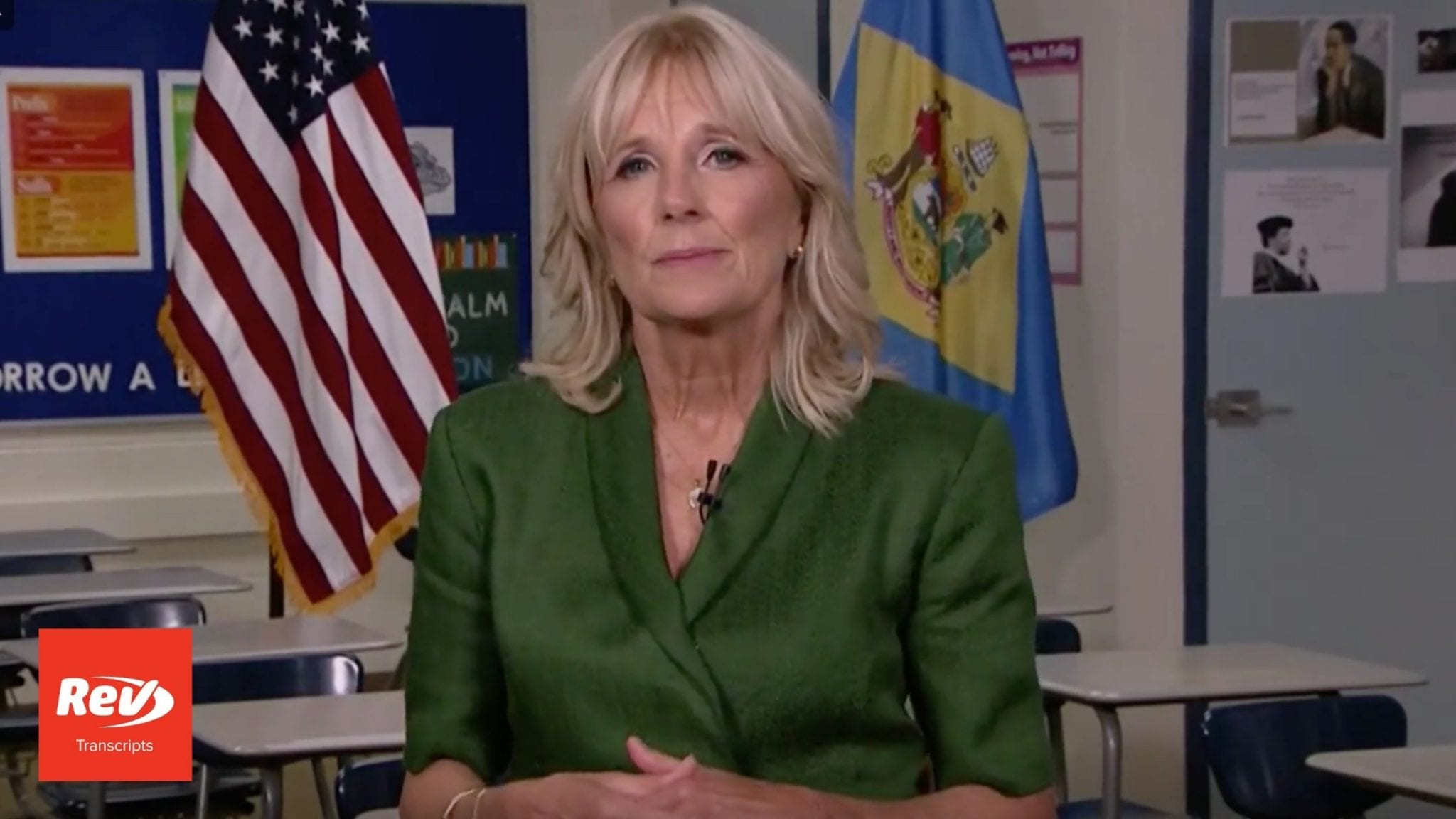 Dr. Jill Biden 2020 DNC Speech Transcript