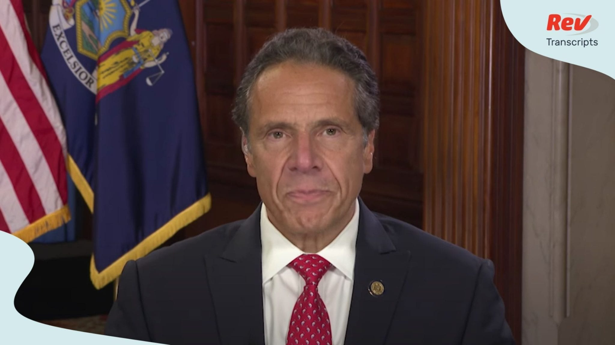 Andrew Cuomo Remarks National Governors Association Transcript August 5