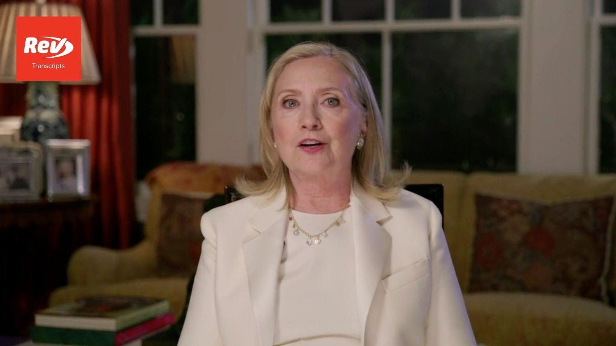 Hillary Clinton 2020 DNC Speech Transcript