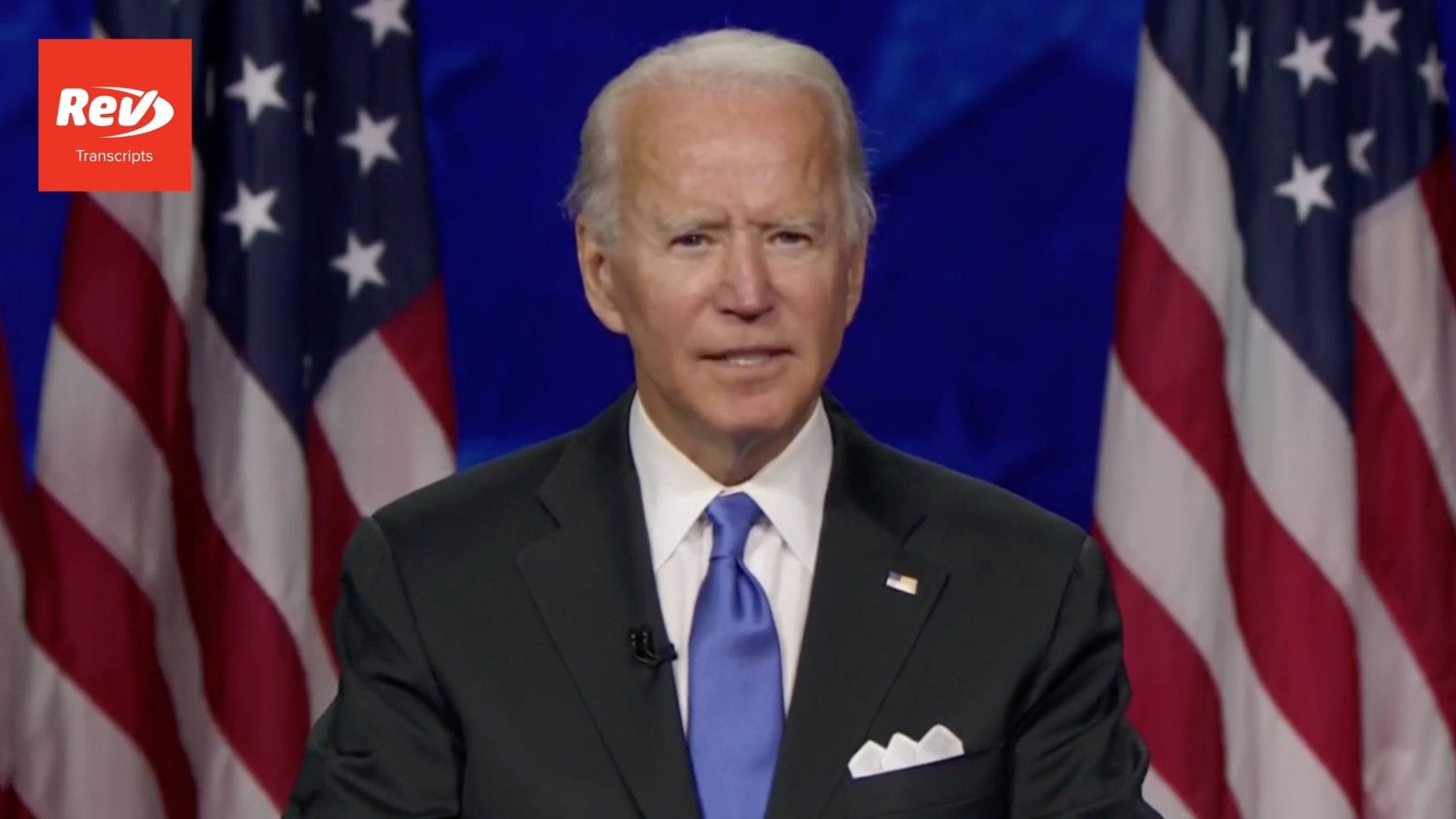 Joe Biden 2020 DNC Speech Transcript
