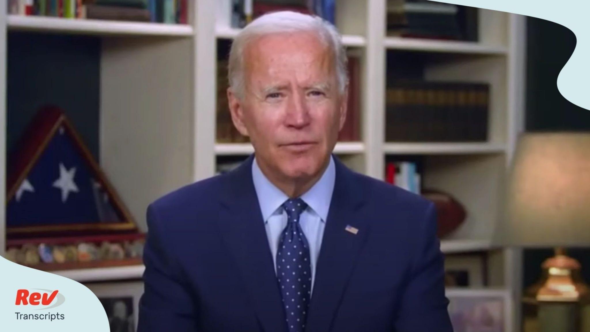 Joe Biden Speech Transcript August 6: National Association of Latino Elected Officials Conference