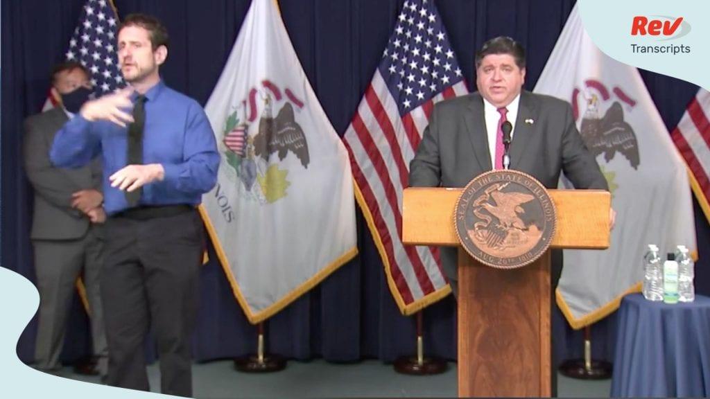 Illinois Gov. JB Pritzker COVID-19 Press Conference Transcript August 7