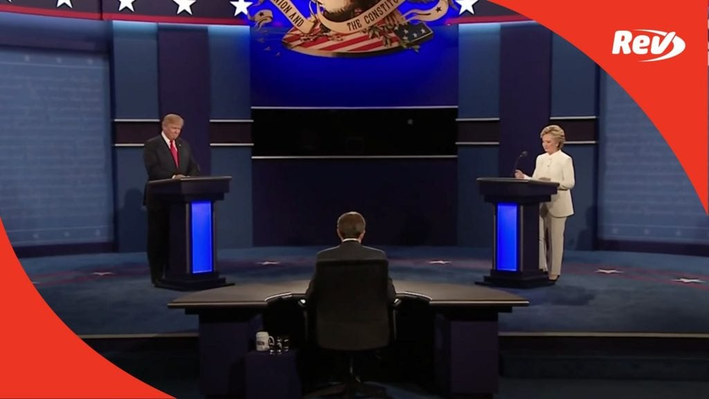 Donald Trump Hillary Clinton Third Debate Transcript Chris Wallace
