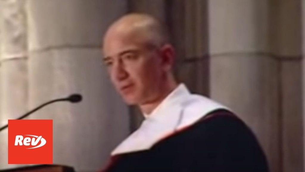 Jeff Bezos 2010 Princeton Commencement Speech Transcript