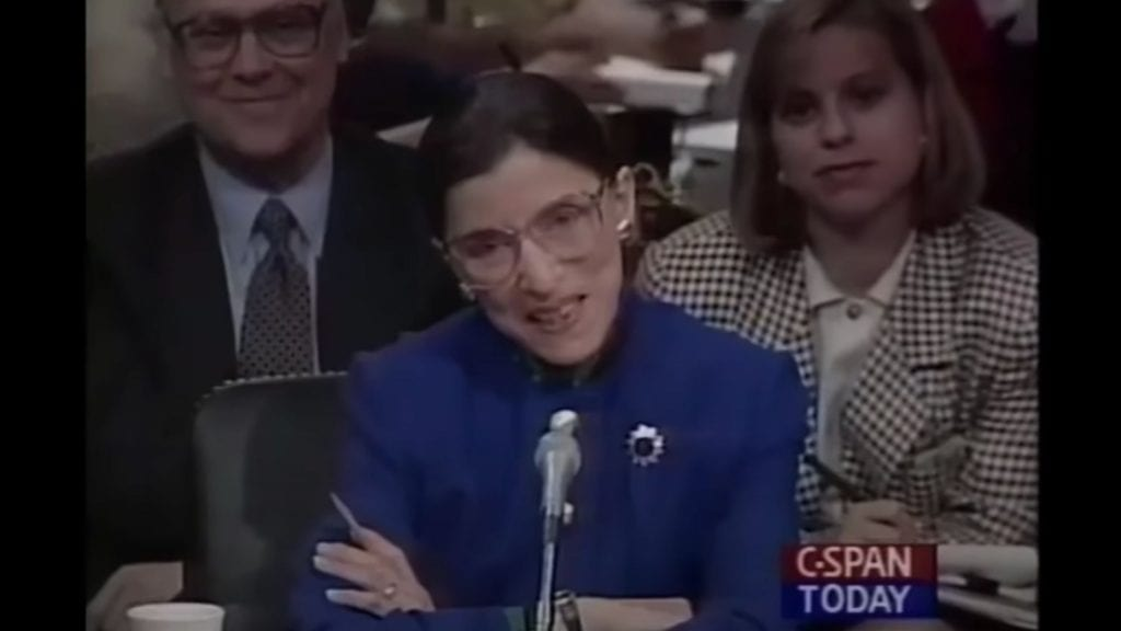 Justice Ruth Bader Ginsburg Full Confirmation Hearing Transcript