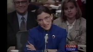 Justice Ruth Bader Ginsburg Full Confirmation Hearing Transcript