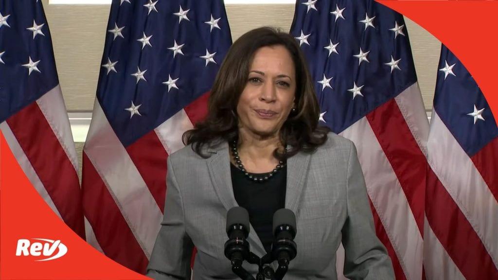 Kamala Harris Press Cnference September 28 SCOTUS Nomination