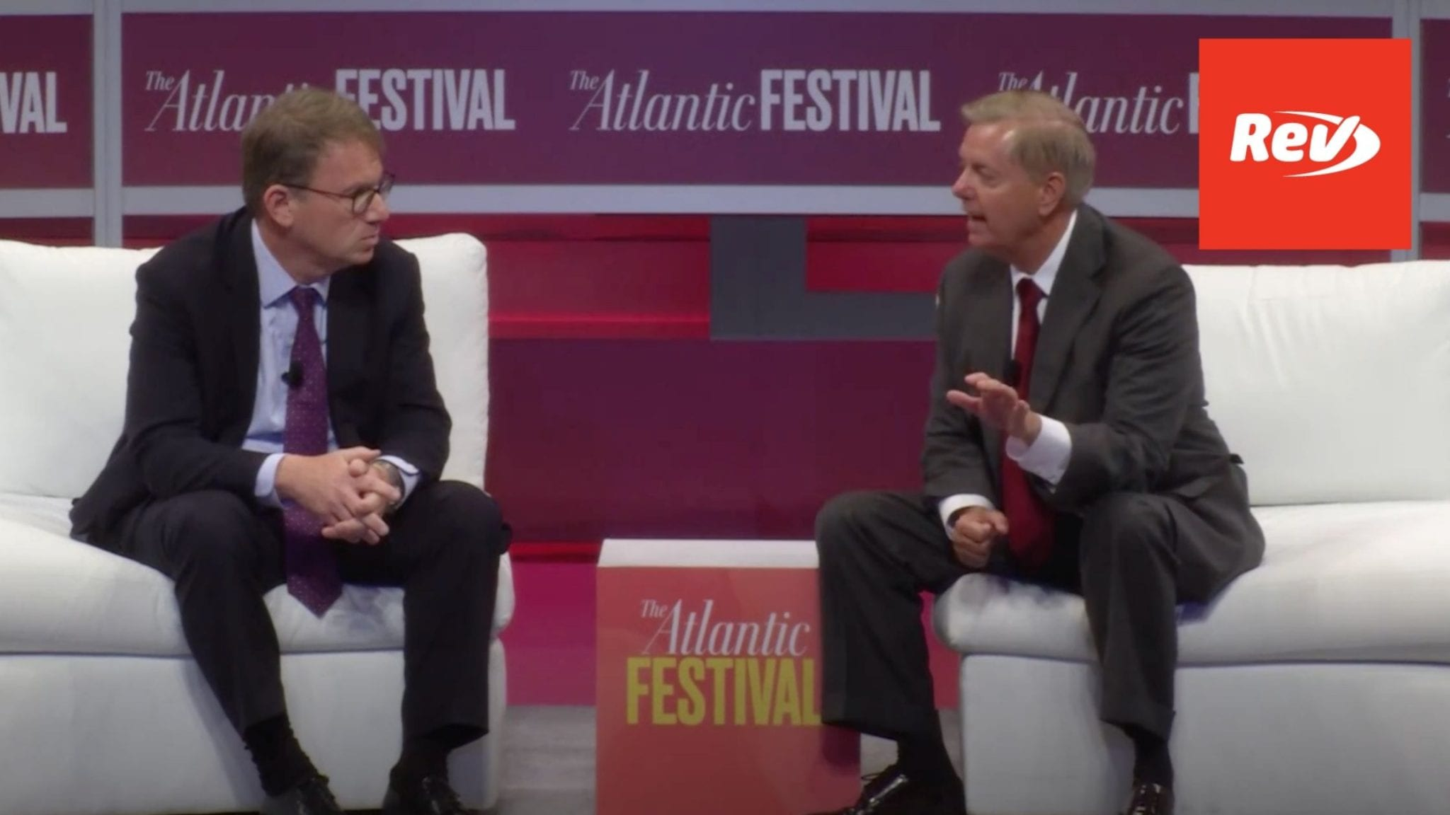 Lindsey Graham The Atlantic Festival Interview Supreme Court