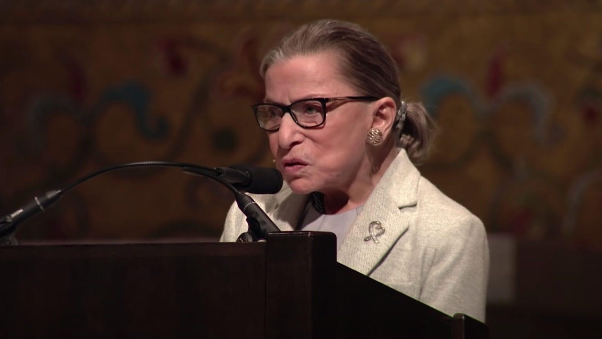 Ruth Bader Ginsburg Stanford Rathbun Lecture 2017