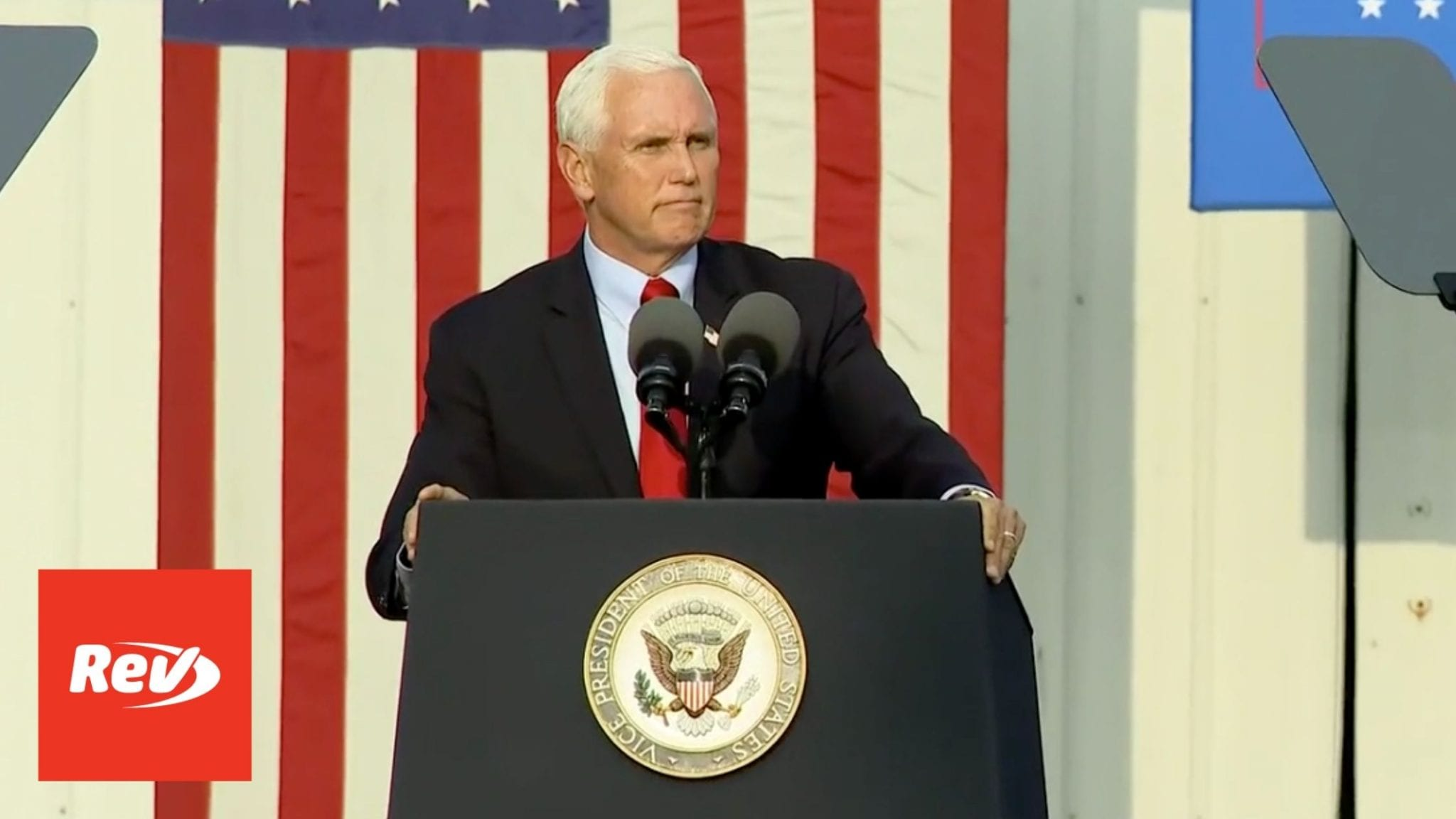 Mike Pence 'Workers for Trump' Event Speech Transcript Zanesville, Ohio September 16
