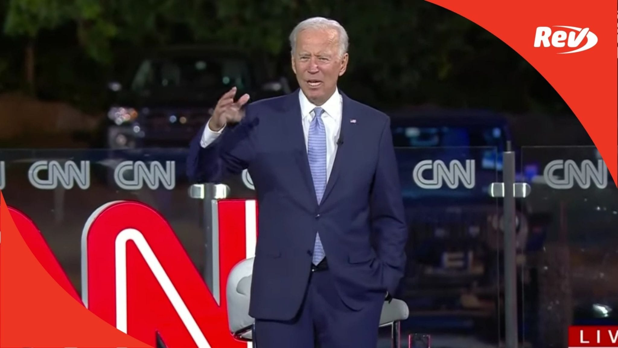 Joe Biden Cnn Town Hall Fracking Has To Continue Transcript September 17 Rev