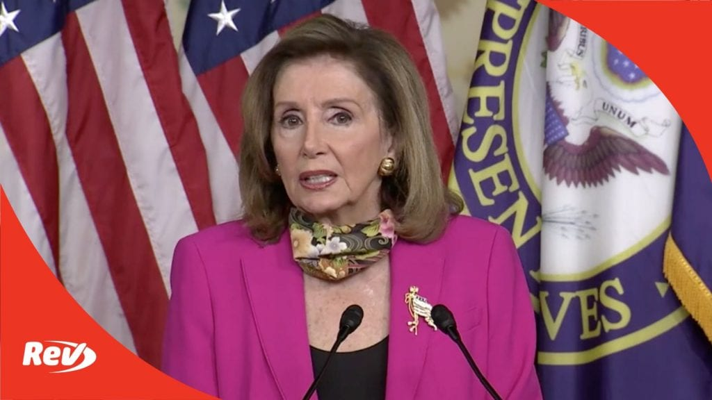 Nancy Pelosi Press Conference Transcript September 18