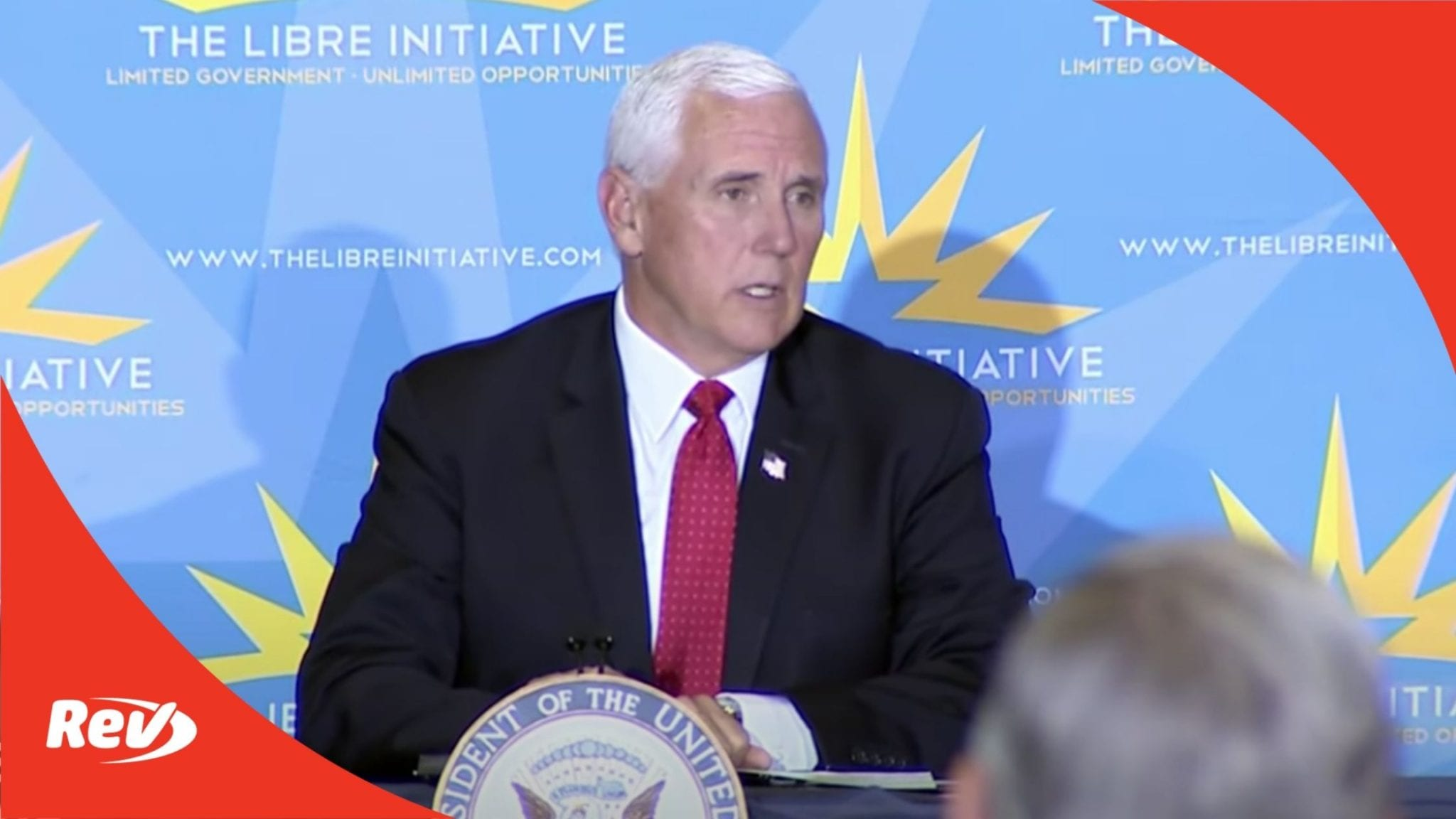 Mike Pence Libre Initiative Roundtable Event Transcript September 18