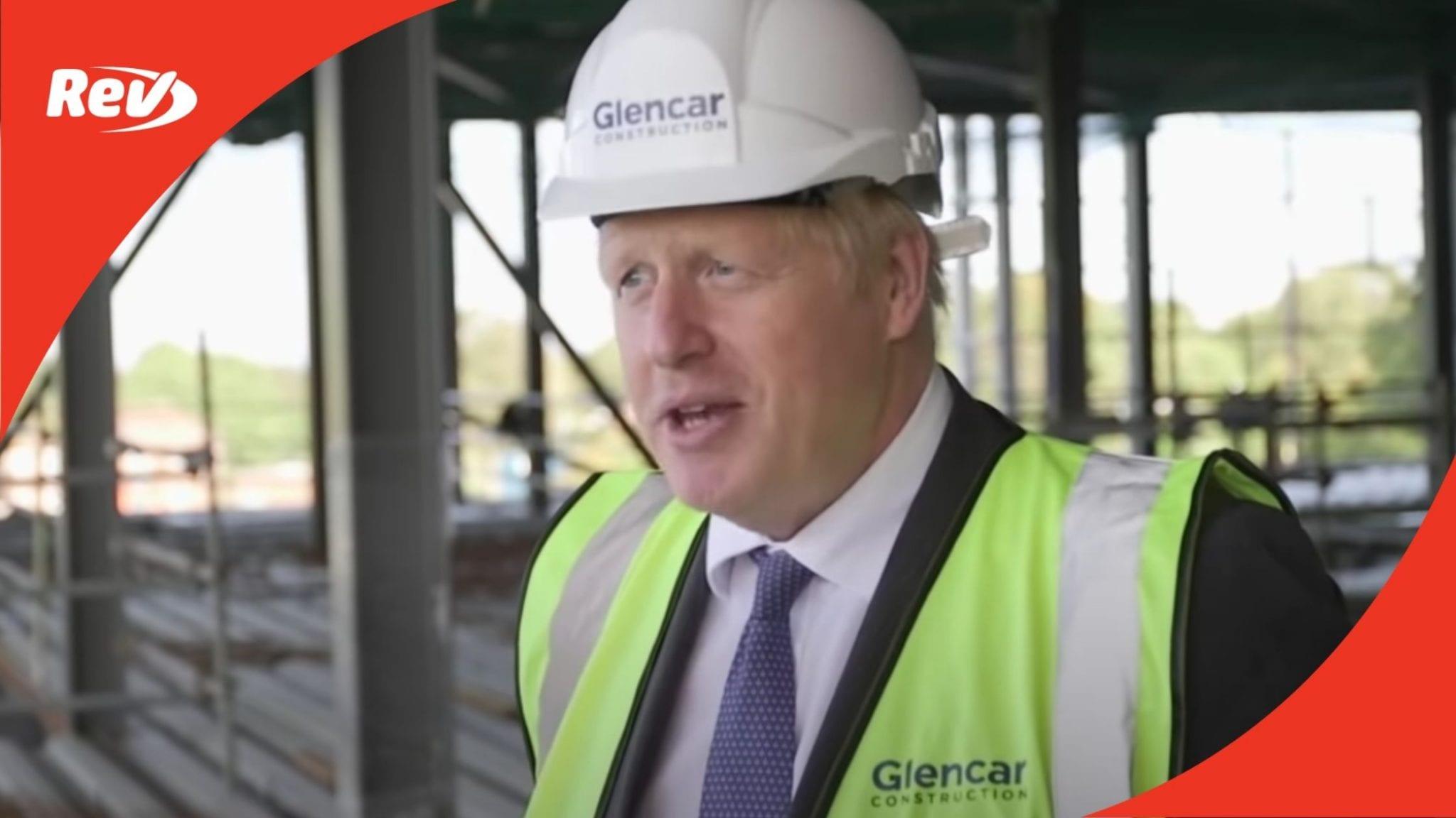 Boris Johnson COVID-19 Second Wave Remarks Transcript September 18